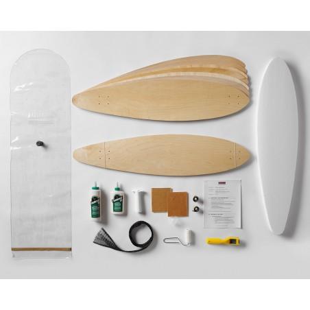 Double Kit Complet Enseignant de Longboard