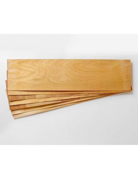 7 plis - Bouleau Placage de Longboard