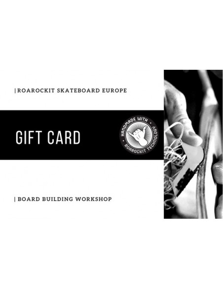 2 Day Board building workshop gift card