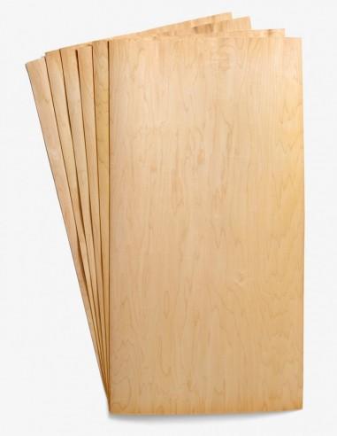 Double-Wide Maple Veneer: 21 sheet pack