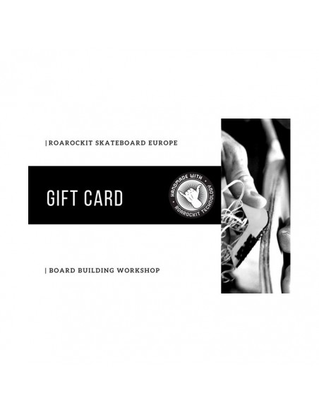 1 Day Board building workshop gift card