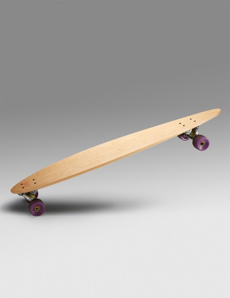 Example of finished pintail board
