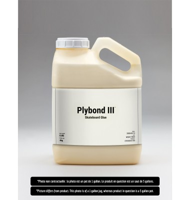 Plybond III Skateboard Glue: 5 Gallons