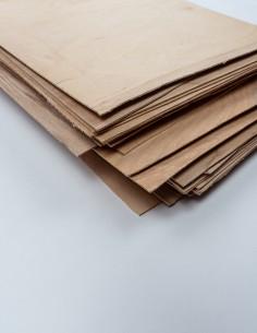 Scrap veneer sheet