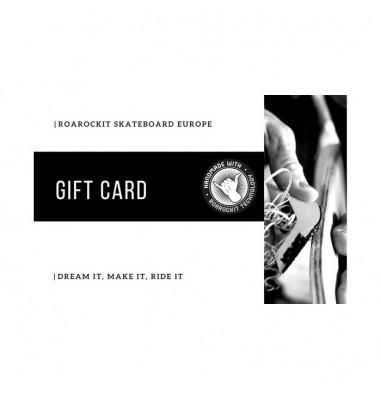 Carte Cadeau Roarockit