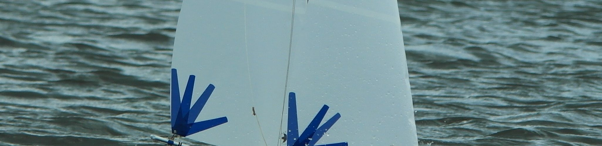 Radio controlled model sailing yacht