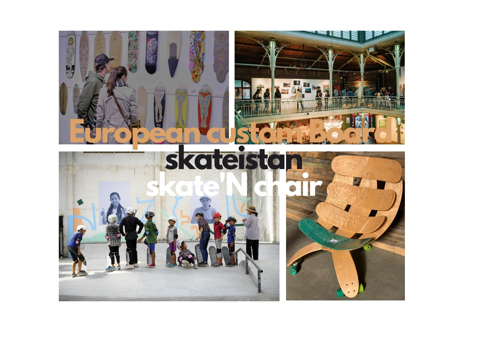 The European Custom Board show / Skateistan/ Roarockit
