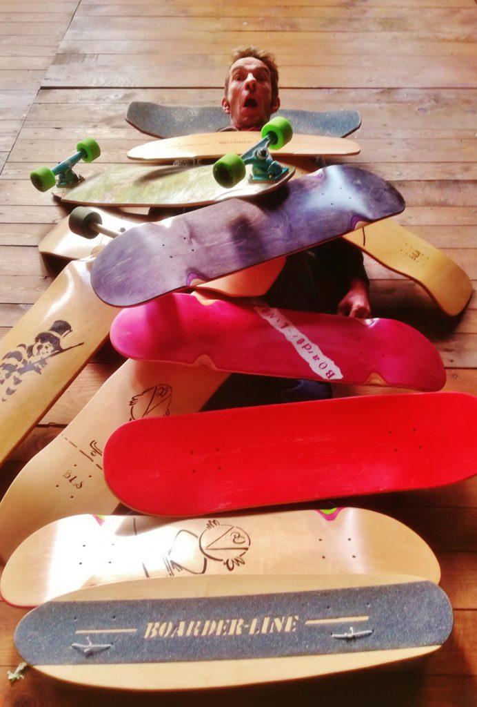 skate Boarder-line